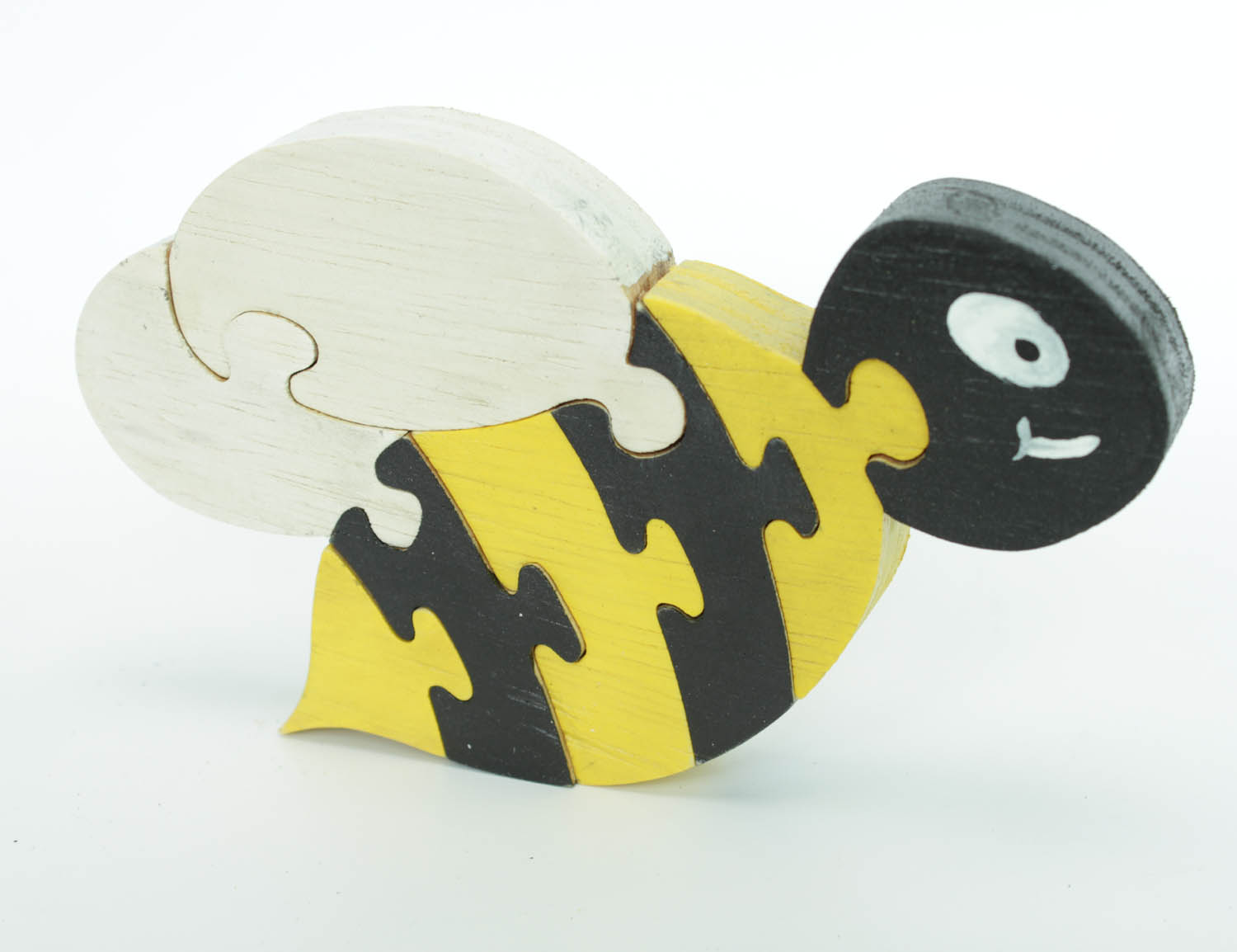 Bumble bee standing wood puzzle and room decor berkshire for Bumble bee mural